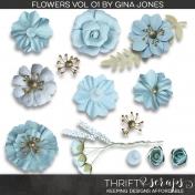 Fabric Flower Kit