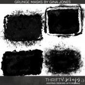 Grunge Photo Masks Kit