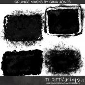 Grunge Photo Masks Kit
