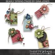 Bearly Spring (Tags)