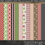 Owl Always Love You (Patterned)