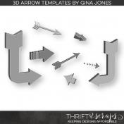 3D Arrow Templates