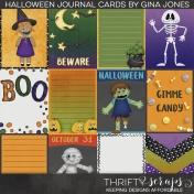 Halloween Journal Cards