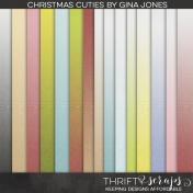 Christmas Cuties Gradient Papers
