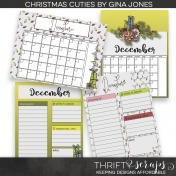 Christmas Cuties Planner