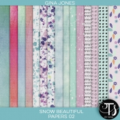 Snow Beautiful (paper pack 02)