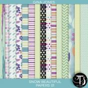 Snow Beautiful (paper pack 01)