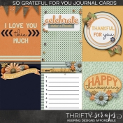 So Grateful For You (Journal Cards)