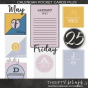 Calendar Pocket Cards Plus