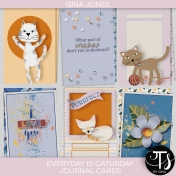 Everyday Is Caturday (journal cards)