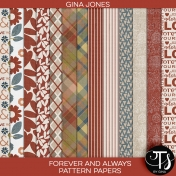 Forever and Always (pattern papers)