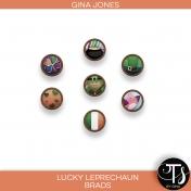 Lucky Leprechaun (brads)