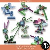 Lucky Leprechaun (bulldog clips)