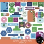 Lucky Leprechaun (labels)