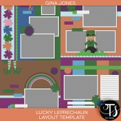 Lucky Leprechaun (layout templates)