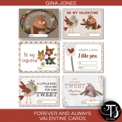 Forever and Always (valentine cards)