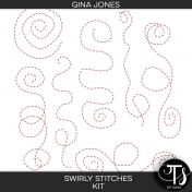 Swirly Stitches (kit)