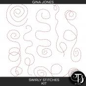 Swirly Stitches (kit)