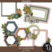 My Everyday: July 2021 Frames