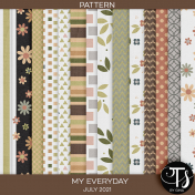 My Everyday: July 2021 Pattern Papers