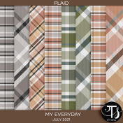 My Everyday: July 2021 Plaid Papers
