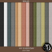 My Everyday: July 2021 Solid Papers