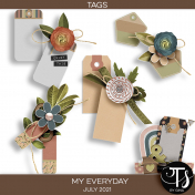 My Everyday: July 2021 Tags