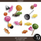 My Everyday: October 2021 Candy Kit