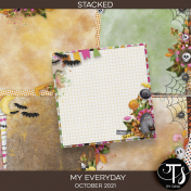 My Everyday: October 2021 Stacked