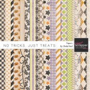 No Tricks, Just Treats Papers Kit