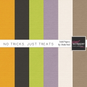 No Tricks, Just Treats Solid Papers Kit