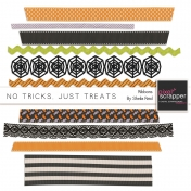 No Tricks, Just Treats Ribbons Kit