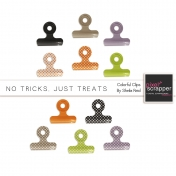 No Tricks, Just Treats Colorful Clips Kit