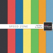 Speed Zone Solid Papers Kit