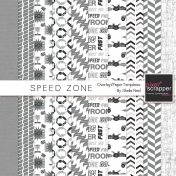 Speed Zone Overlay/Paper Templates Kit