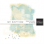 My Baptism Stamps And Scatters Kit