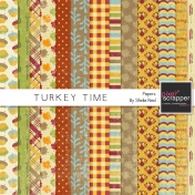 Turkey Time Papers Kit