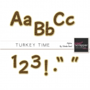 Turkey Time Alpha Kit