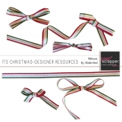 Its Christmas-Designer Resources-Ribbons Kit