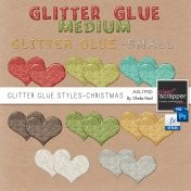 Its Christmas-Designer Resources-Glitter Glue Styles