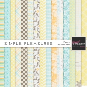 Simple Pleasures Papers Kit