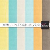 Simple Pleasures Solid Papers Kit