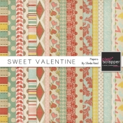 Sweet Valentine Papers Kit