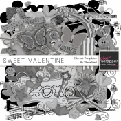 Sweet Valentine Element Templates Kit