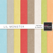 Lil Monster Solid Papers Kit
