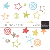 Lil Monster Stamps Kit