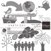 Earth Day Element Templates Kit