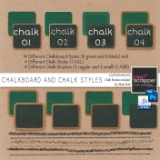 Chalkboard And Chalk Styles
