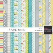 Rain, Rain Papers Kit