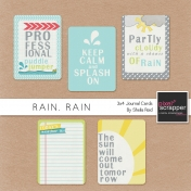 Rain, Rain Journal Cards Kit